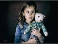Elise (5 jaar). Retrolook fotografie. (januari 2019)